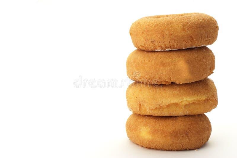 Duidelijke donuts royalty-vrije stock foto