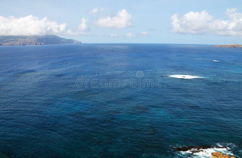 Duidelijke oceaan aan Brava royalty-vrije stock fotografie