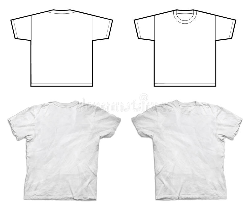 Duidelijke Overhemden royalty-vrije stock afbeeldingen