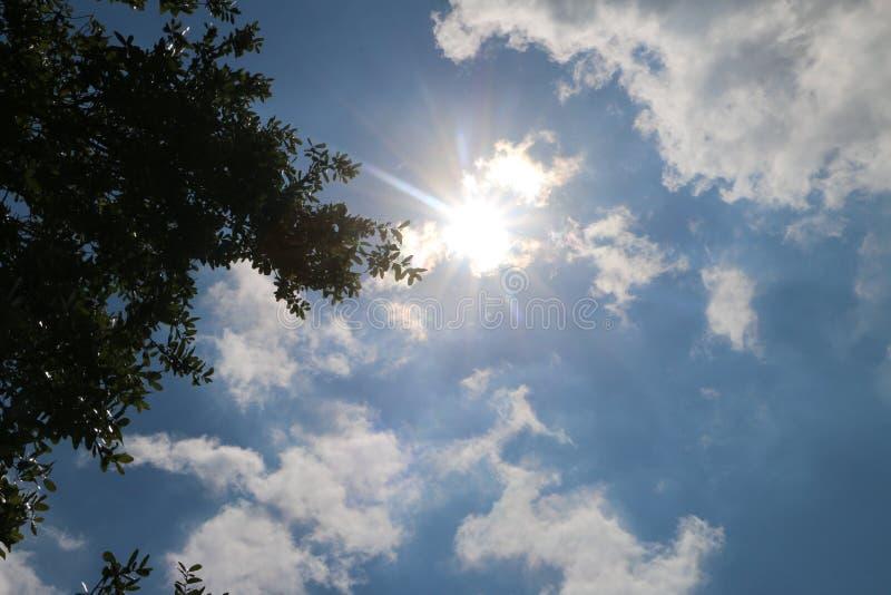 Duidelijke skies do I ziet stock foto