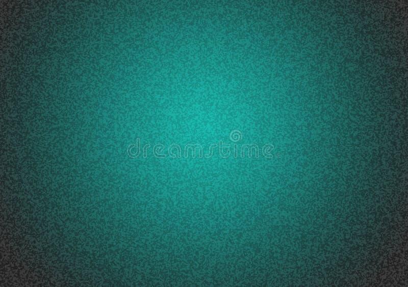 Duidelijke turkooise geweven achtergrond met gradiënt stock afbeelding