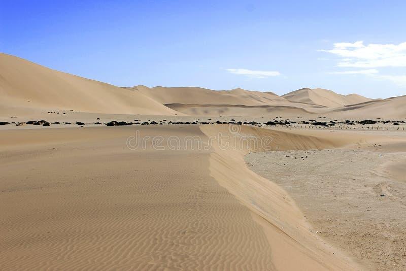 Duin in de namibwoestijn Afrika stock foto