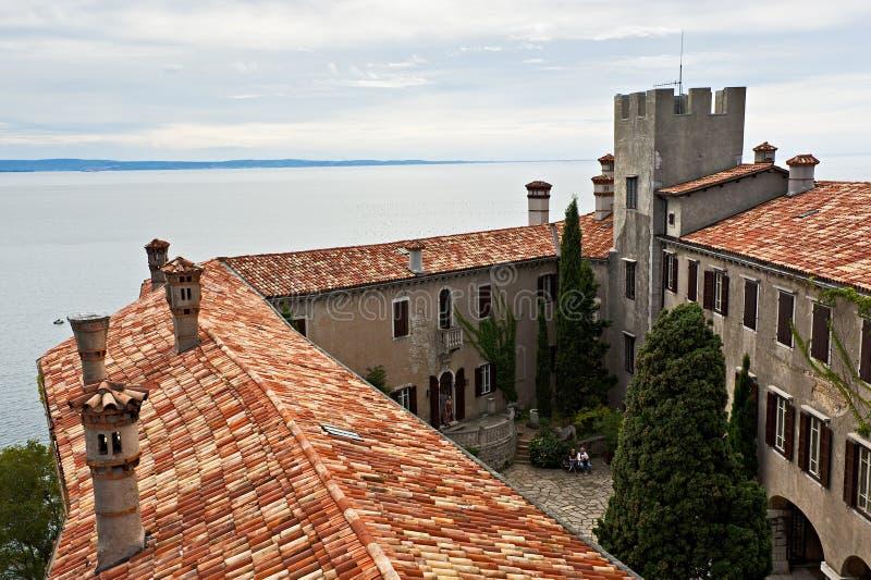 Duino kasztel, Włochy obrazy stock