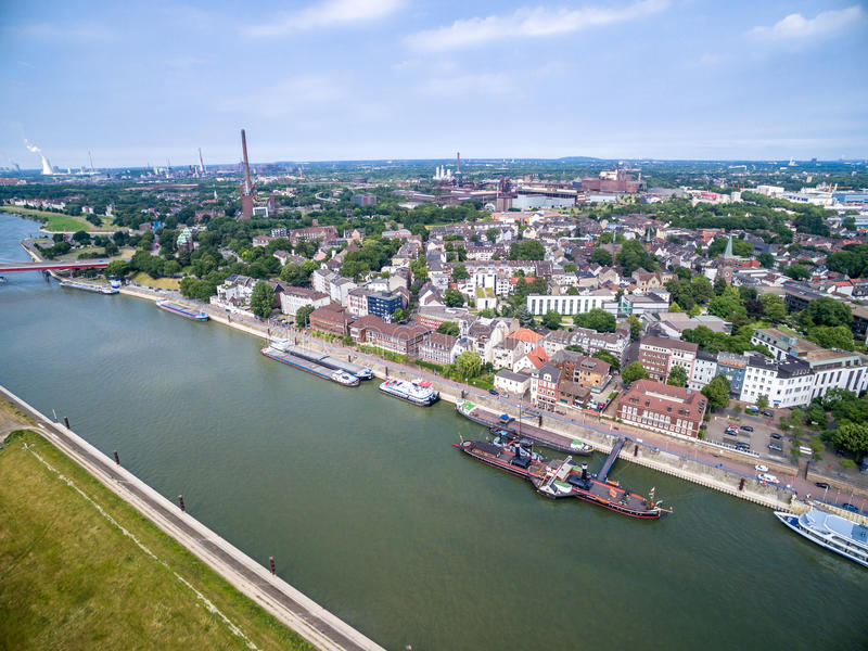 Download Duisburg Ruhrort Aerial Editorial Photography - Image: 83702772