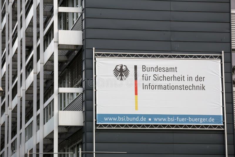 Duits bureau voor veiligheid in informatietechnologie royalty-vrije stock fotografie