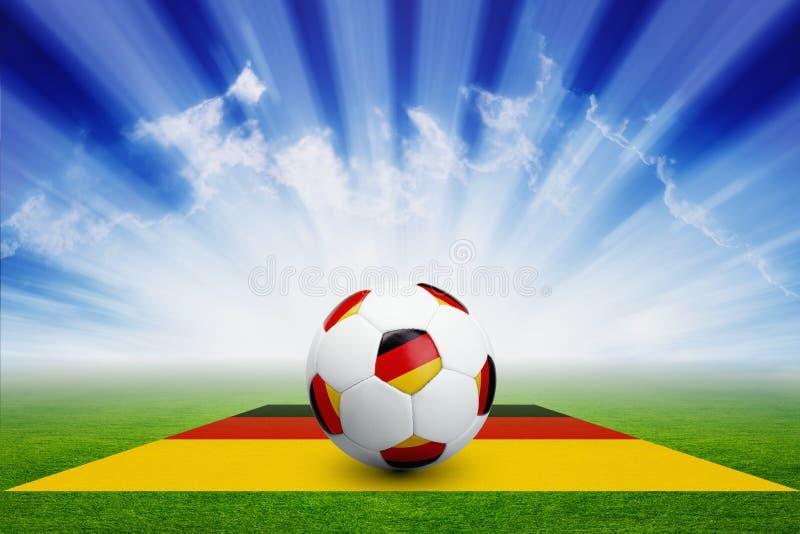 Duits voetbal stock illustratie