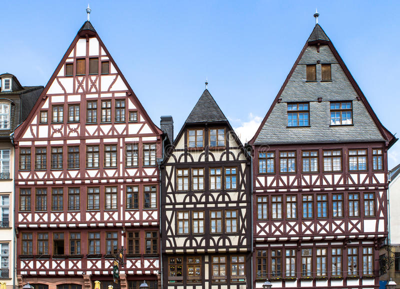 Duitse architectuur stock fotografie