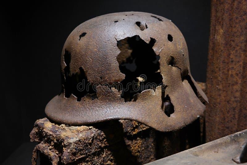 Duitse helm stock foto's