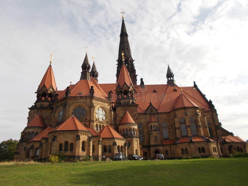 Duitse kerk royalty-vrije stock foto