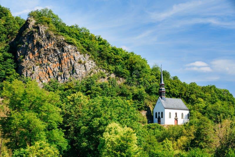 Duitse Kerk in Ahrbruck, District van Ahrweiler royalty-vrije stock afbeeldingen