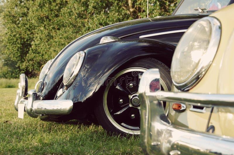 Duitse Klassieke Auto - Kevers stock foto's