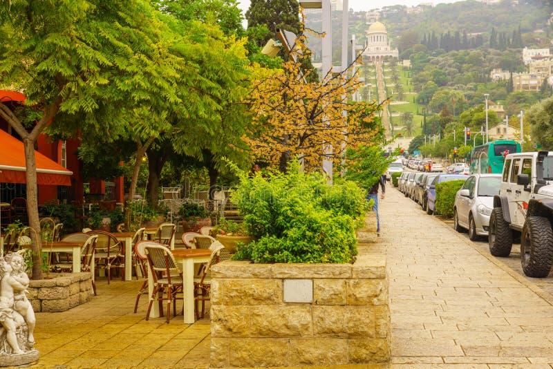 Duitse Kolonie, Haifa royalty-vrije stock foto