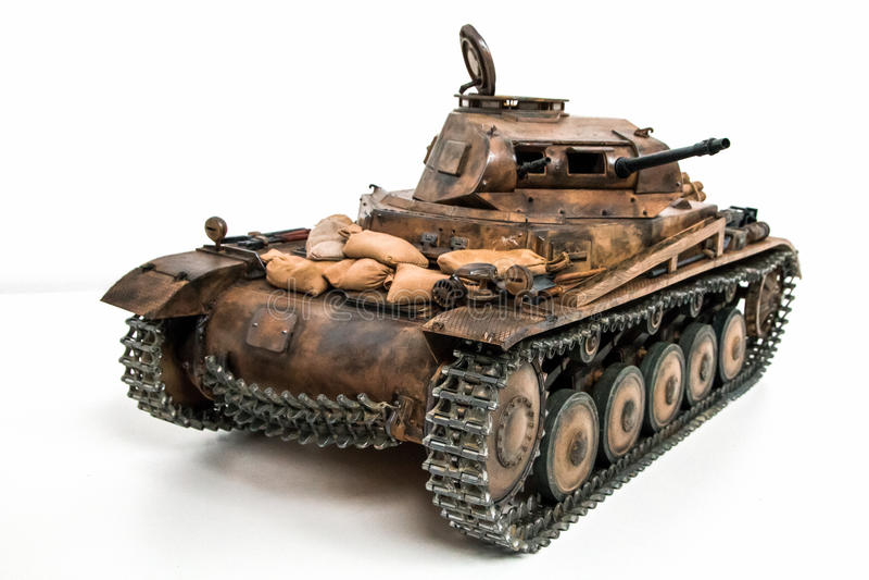 Duitse lichte tank royalty-vrije stock fotografie