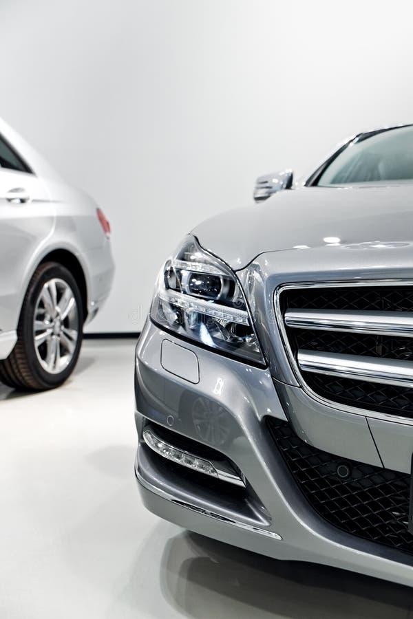 Duitse luxeauto royalty-vrije stock foto's