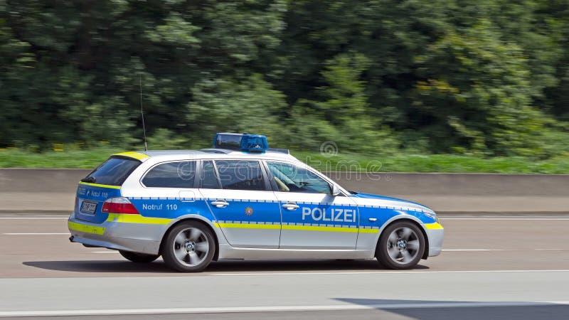 Duitse politie royalty-vrije stock afbeeldingen