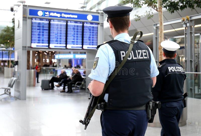 Duitse politie royalty-vrije stock foto's