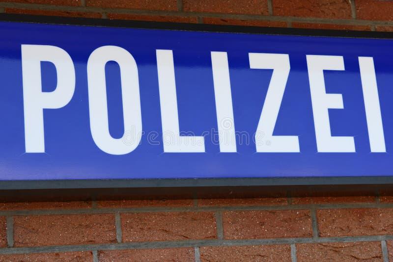 Duitse politie stock foto's
