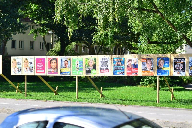 Duitse verkiezingen 2013 stock afbeeldingen