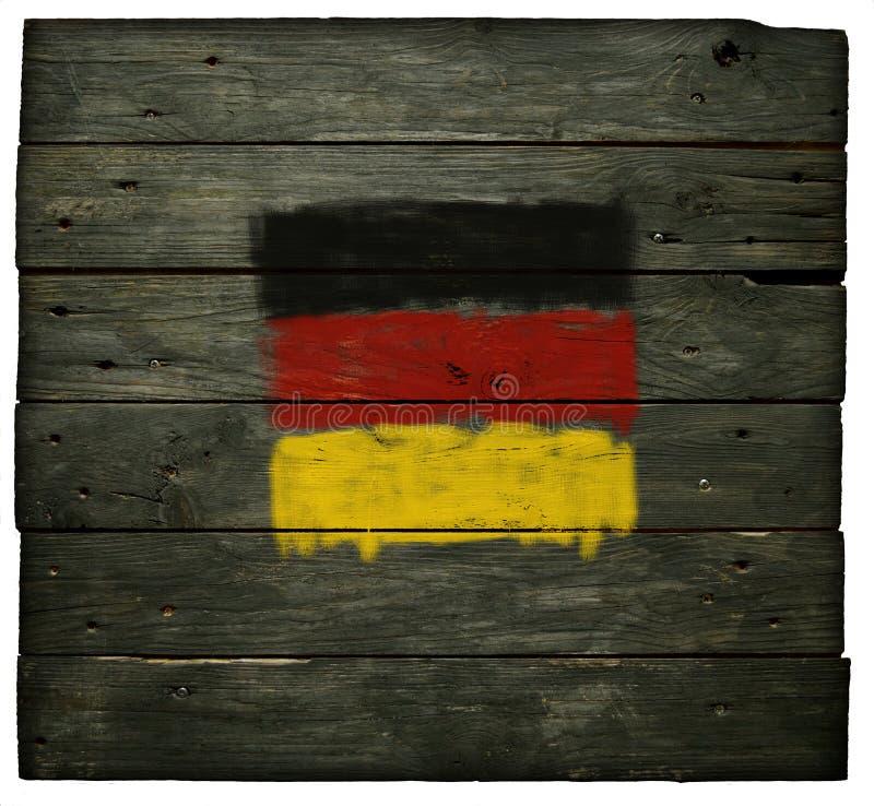 Duitse vlag royalty-vrije stock afbeeldingen