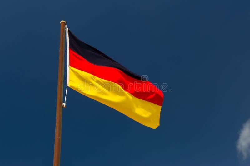 Duitse vlag royalty-vrije stock afbeelding