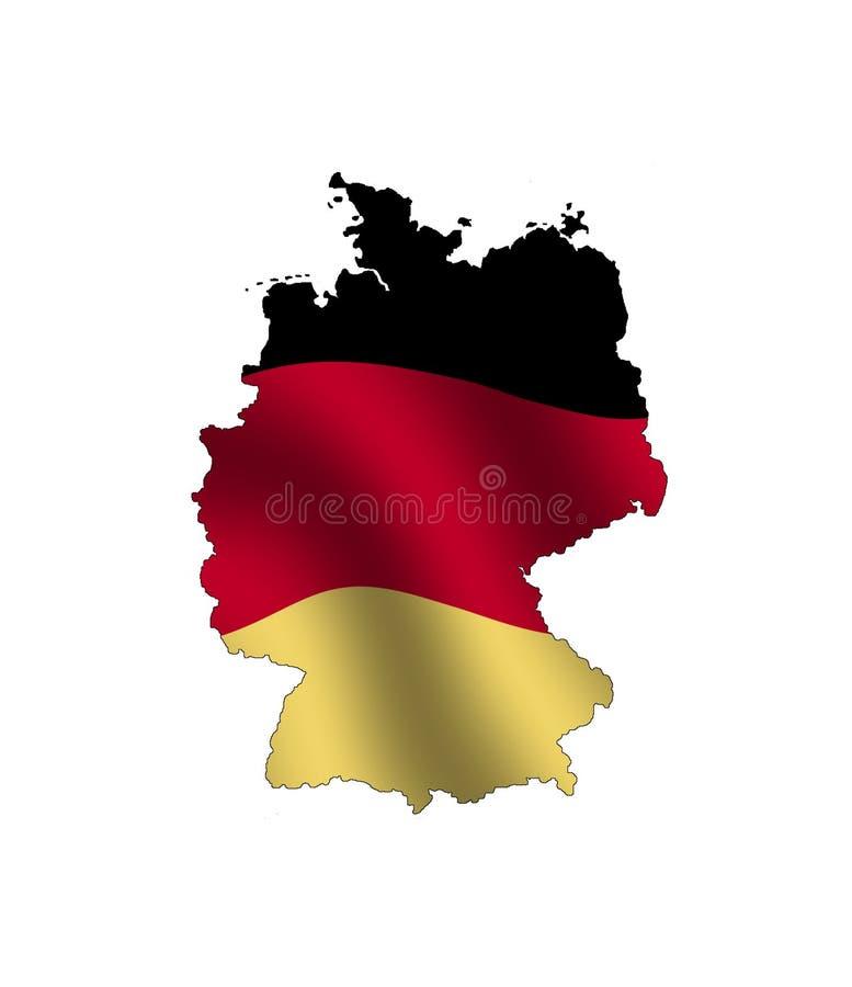 Duitsland royalty-vrije illustratie