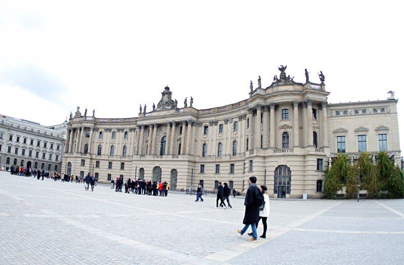 Duitsland de Humboldt-Universiteit van Berlijn royalty-vrije stock foto's