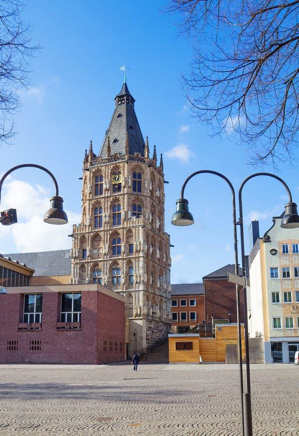 duitsland keulen Stadhuis stock afbeelding