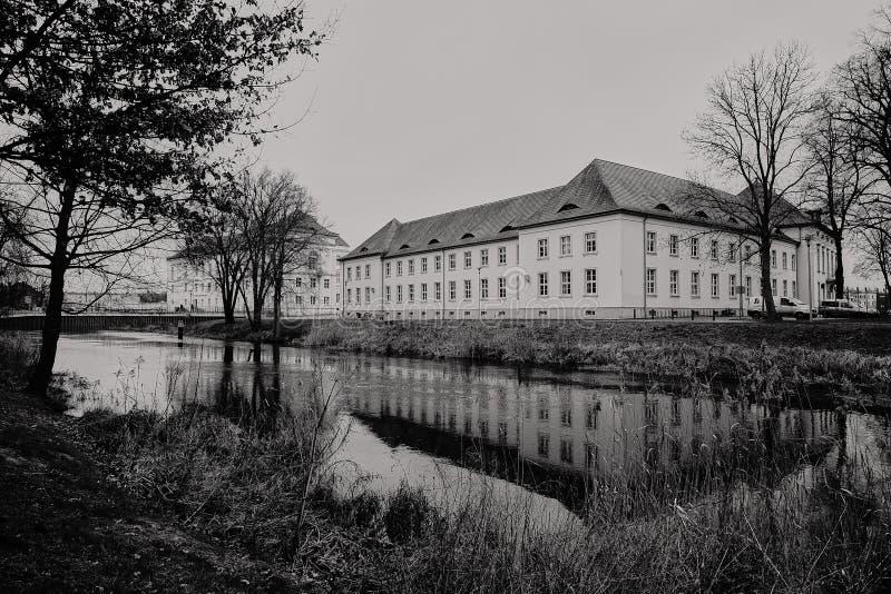 Duitsland - Oranienburg - Havel stock afbeelding