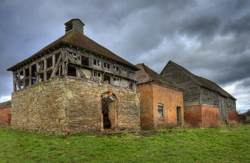 Duiventil en schuren, Worcestershire royalty-vrije stock fotografie