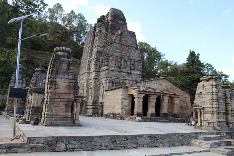 Duizend jaar oude Indiase monumentenarchitectuur royalty-vrije stock fotografie
