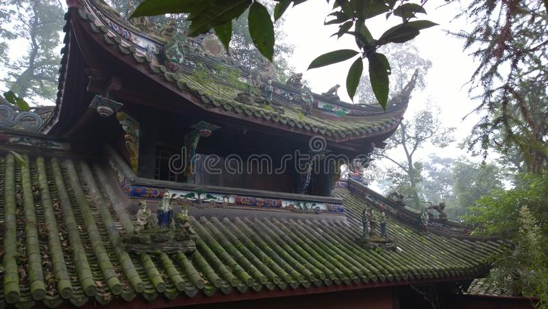 Dujiang yan. Dujiangyan, the world's cultural heritage (in 2000 was listed by UNESCO World Heritage list), the World Natural Heritage (Sichuan Giant Panda royalty free stock images