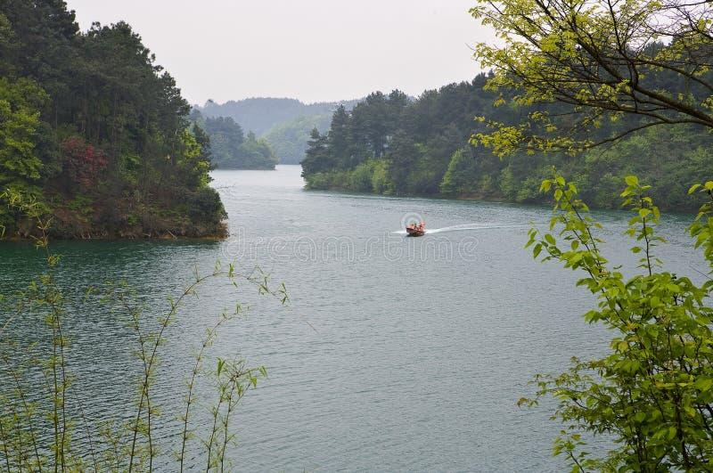 dujuan湖 免版税库存照片