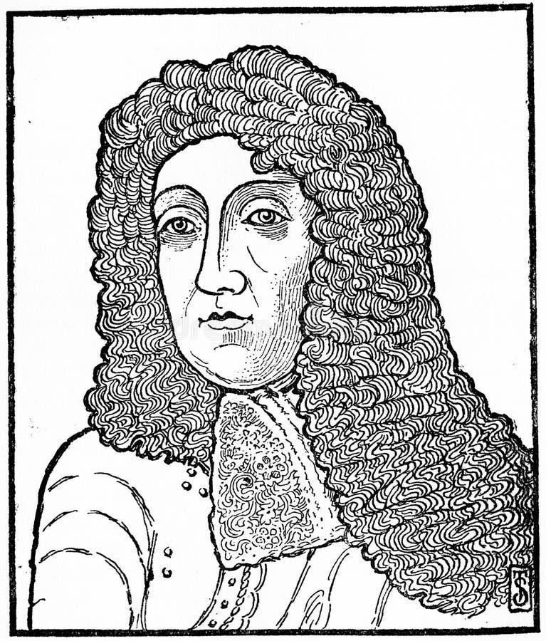 Duke av York, AKA James II och VII royaltyfria foton