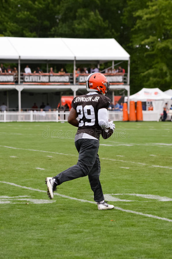 Duke Johnson Jr NFL Cleveland Browns stock image