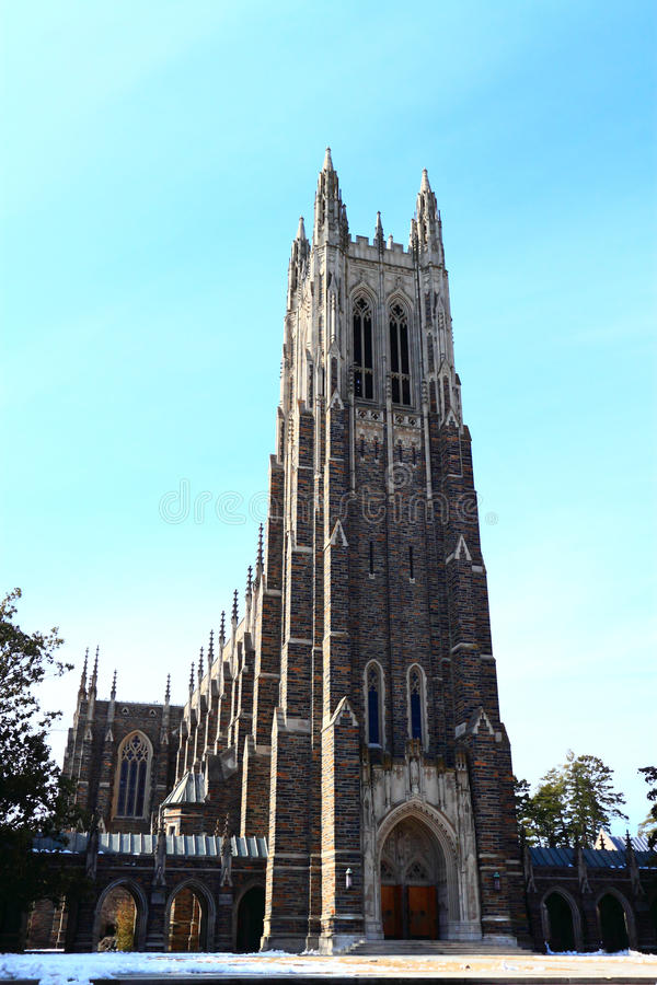 Duke University photo libre de droits