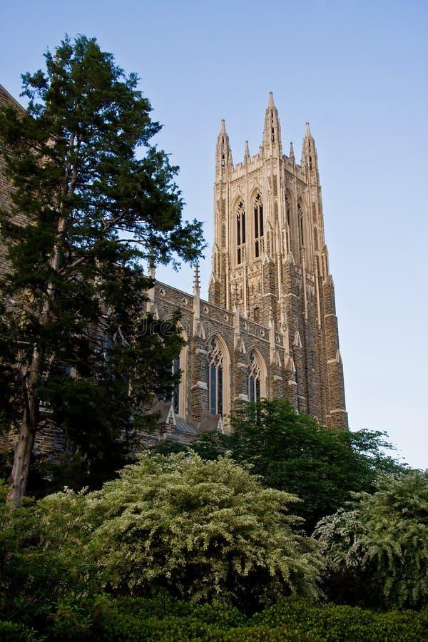 Duke University imagem de stock royalty free
