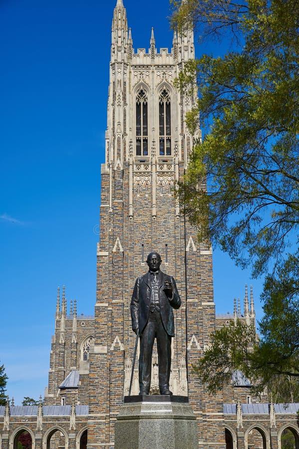 Duke University Chapel fotografie stock