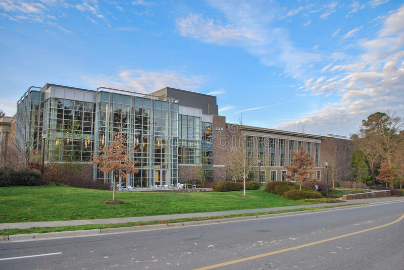 Duke University School of Law stock image