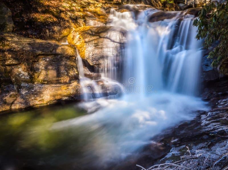 Dukes Creek Falls 2 royalty free stock photo