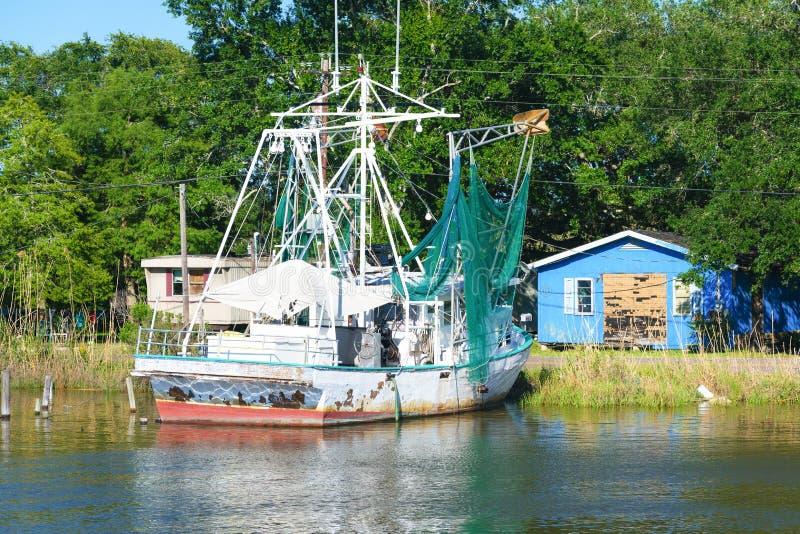 Dulac, albufeira de Louisiana foto de stock royalty free