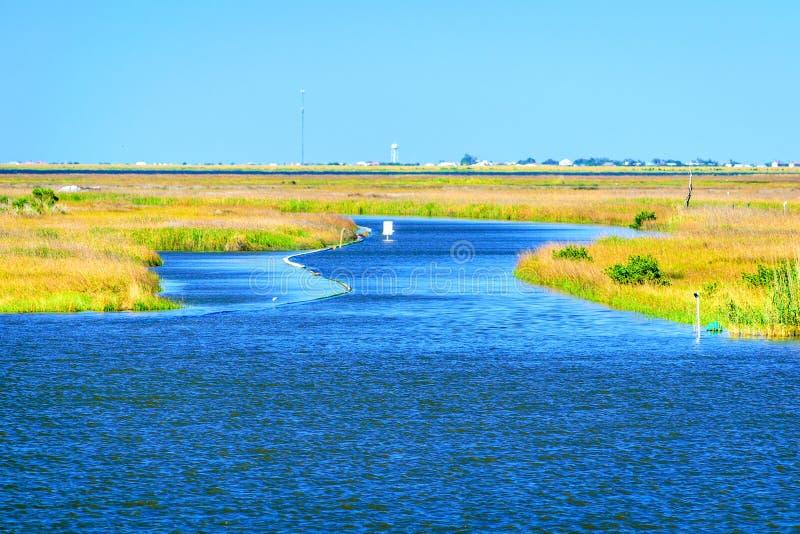Dulac, Louisiana-Bayou lizenzfreies stockbild