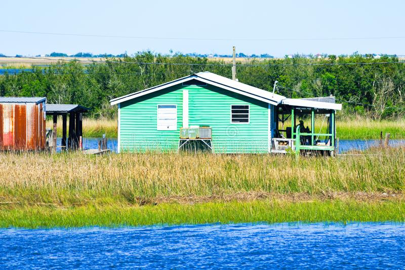 Dulac, Louisiana-Bayou stockbild