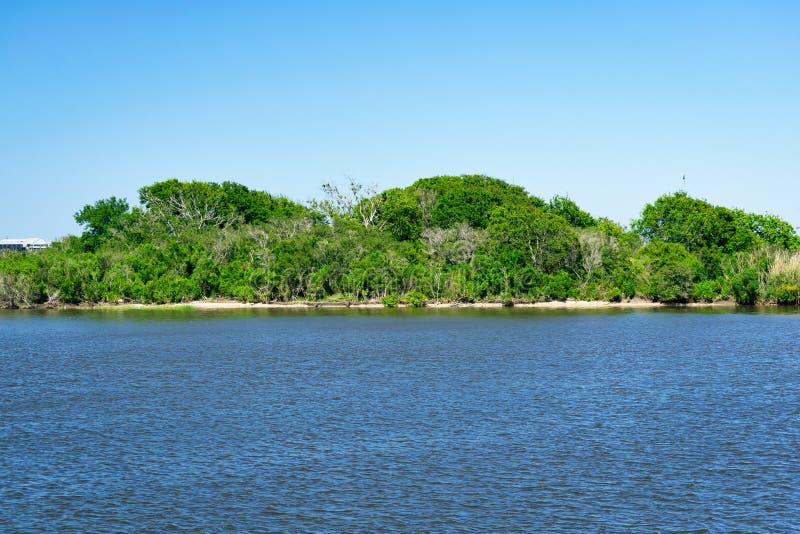 Dulac, Luizjana zalewisko obraz stock