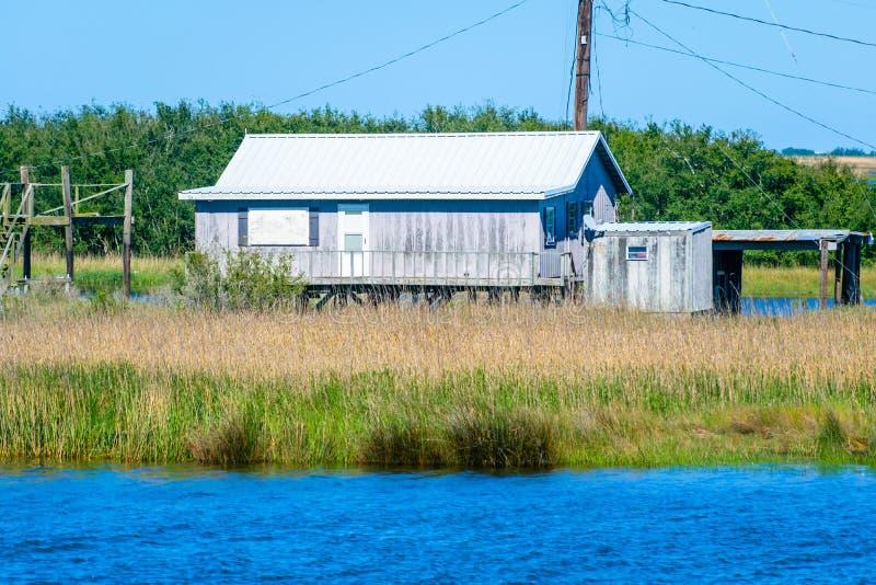 Dulac, Luizjana zalewisko obrazy stock