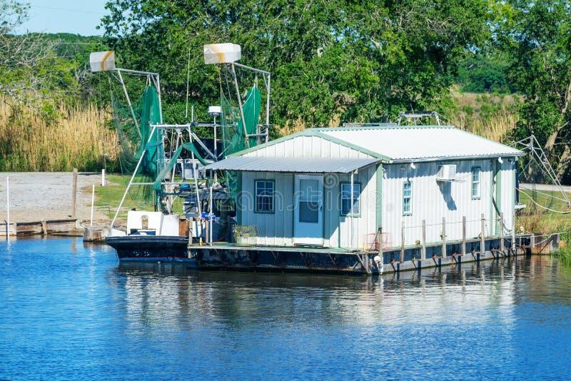 Dulac, Luizjana zalewisko obraz royalty free