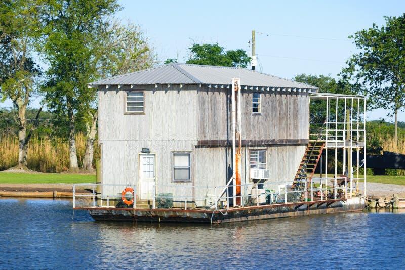 Dulac, Luizjana zalewisko zdjęcie stock