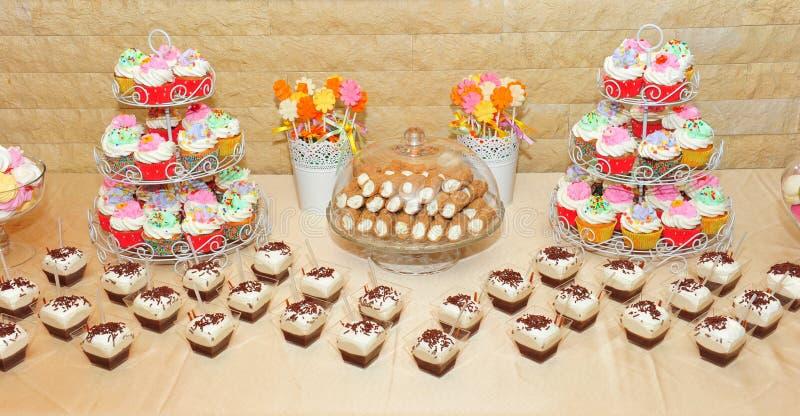 Dulces de Candybar fotografía de archivo