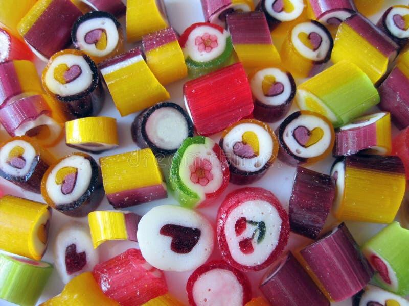 Dulces de los caramelos imagenes de archivo