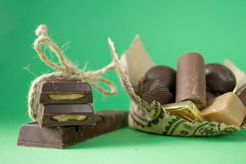 Dulces del chocolate fotografía de archivo