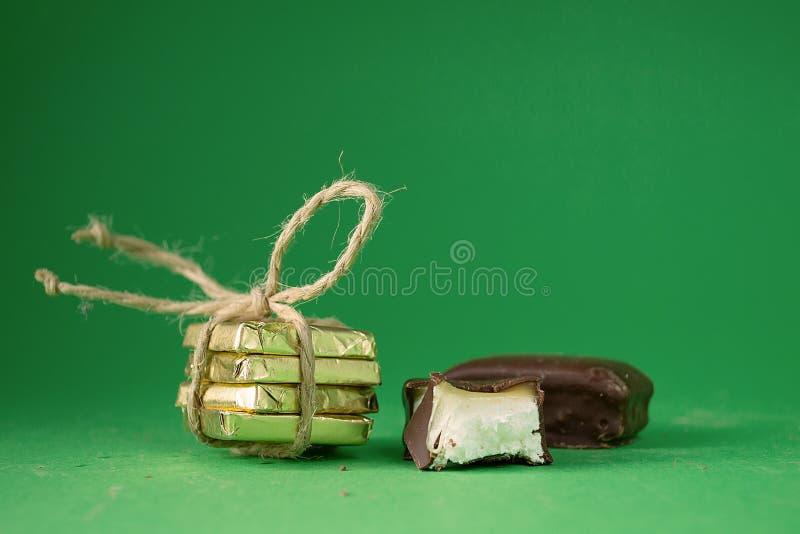 Dulces del chocolate fotos de archivo